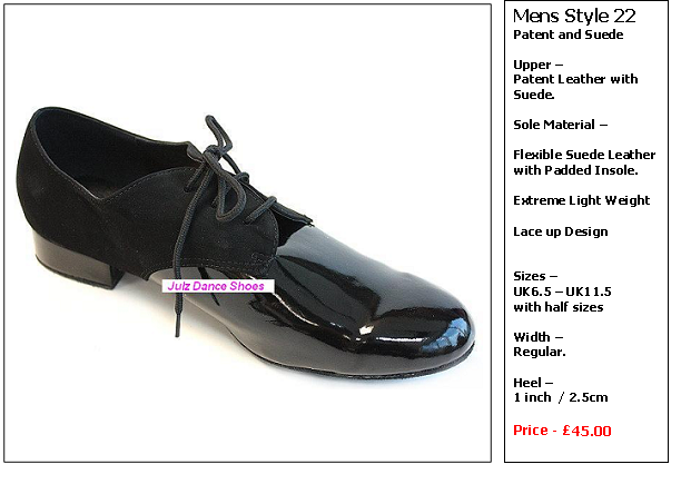 mens dance shoes style 22