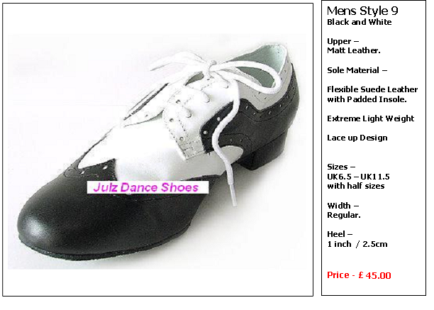 mens dance shoes style 9